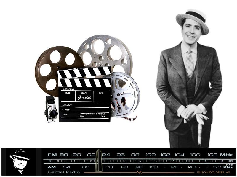 El cine y las películas de Carlos Gardel